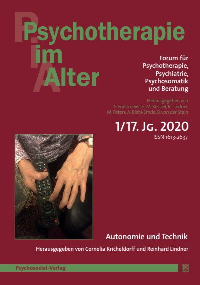 Psychotherapie im Alter Cover
