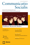 Communicatio Socialis (ComSoc )
