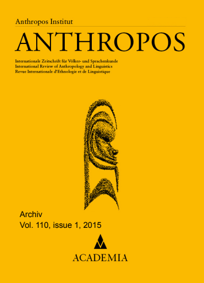 Anthropos Cover