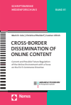 Mark D. Cole, Christina Etteldorf, Carsten Ullrich - Cross-Border Dissemination of Online Content