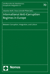 - Supporting the Implementation of International Anti-Corruption Initiatives: The German UNCAC Project