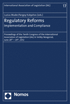 Sergey Kabyshev, Luzius Mader - Regulatory Reforms - Implementation and Compliance