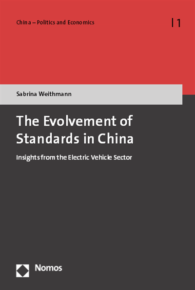 The Evolvement Of Standards In China Volume 2018 Issue Nomos Elibrary