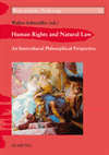 Walter Schweidler - Human Rights and Natural Law