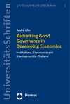 André Ufer - Rethinking Good Governance in Developing Economies