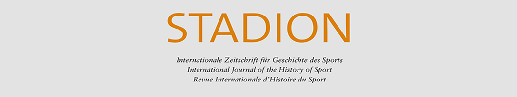 Internationale Zeitschrift für Geschichte des Sports – International Journal of the History of Sport – Revue Internationale d'Histoire du Sport Banner