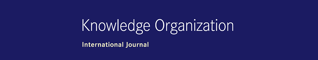 Official Journal of the International Society for Knowledge Organization Banner