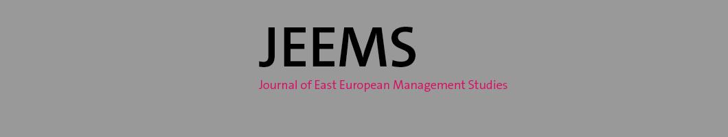 Journal of East European Management Studies Banner